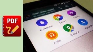 WhatsApp ahora permite enviar archivos PDF