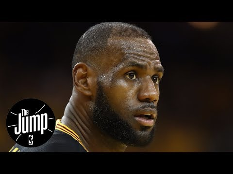 Frustrated LeBron James Wants To Stay With Cavaliers | The Jump | ESPN