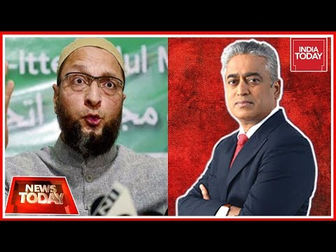 Should I Beg PM For My Life?: Owaisi Exclusive On Modi's Minority Outreach | News Today With Rajdeep
