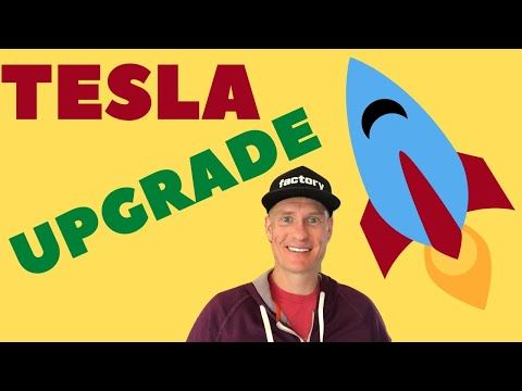 Tesla got another upgrade...guess what happened!?