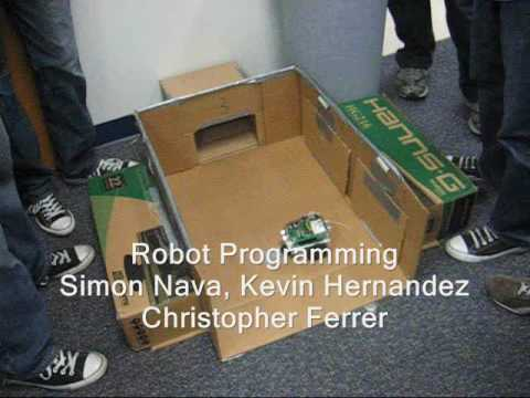 Robot Programming - Team 1, FIU Miami