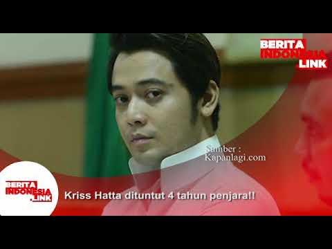 Kriss Hatta dituntut 4 tahun Penjara !!
