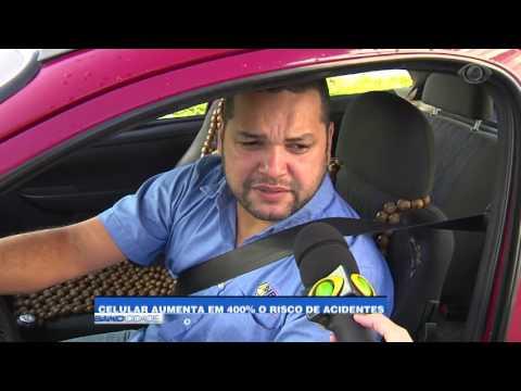 """Band Cidade - """"Celular aumenta em 400% o risco de acidentes"""""""