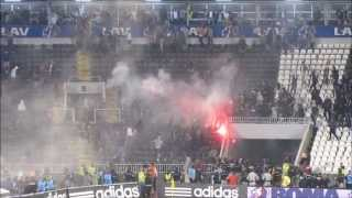 Trouble before the Belgrade Derby