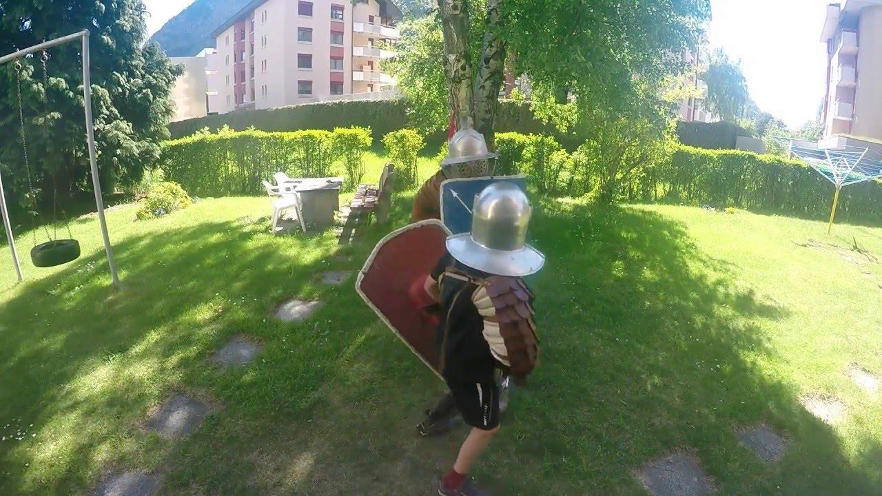 Brave Provocator Gladiator Kid Fights Murmillo Youtube