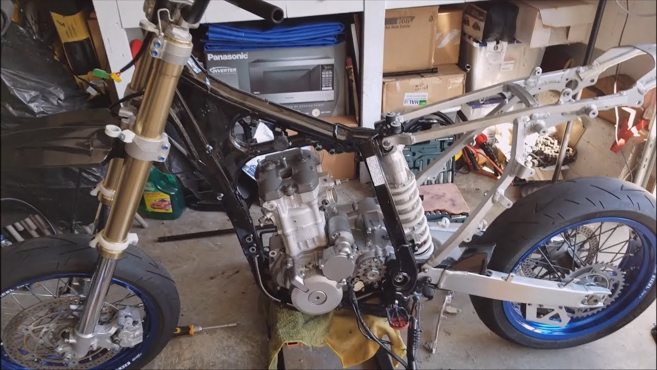 engine installation re wiring 2013 suzuki drz400sm [ 1280 x 720 Pixel ]