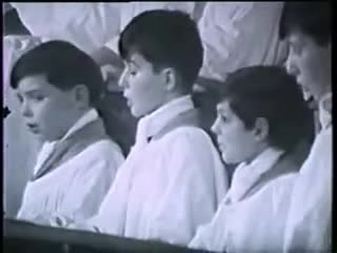 Nunc Dimittis in F (George Dyson) - Guildford Cathedral Choir (Barry Rose)