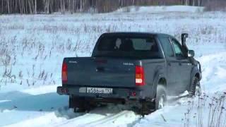 Test Toyota Hilux 2012, часть 1