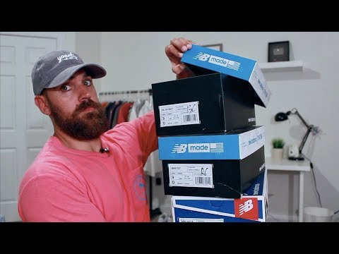 Triple New Balance UNBOXING! This Collab is FIRE!