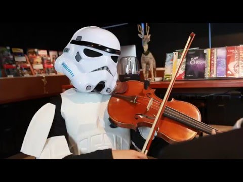 SSC Plays Star Wars for Violin, Viola and Cello!