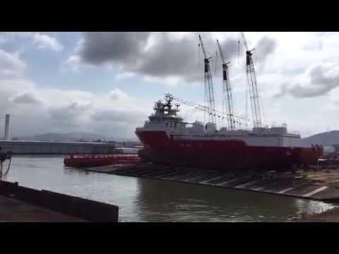 Lançamento Stim Star Brasil   NAVSHIP - HALLIBURTON