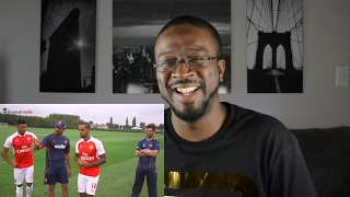 Arsenal Soccer Players Try Cricket [ Funny ] REACTION || SPORTS REACTIONS