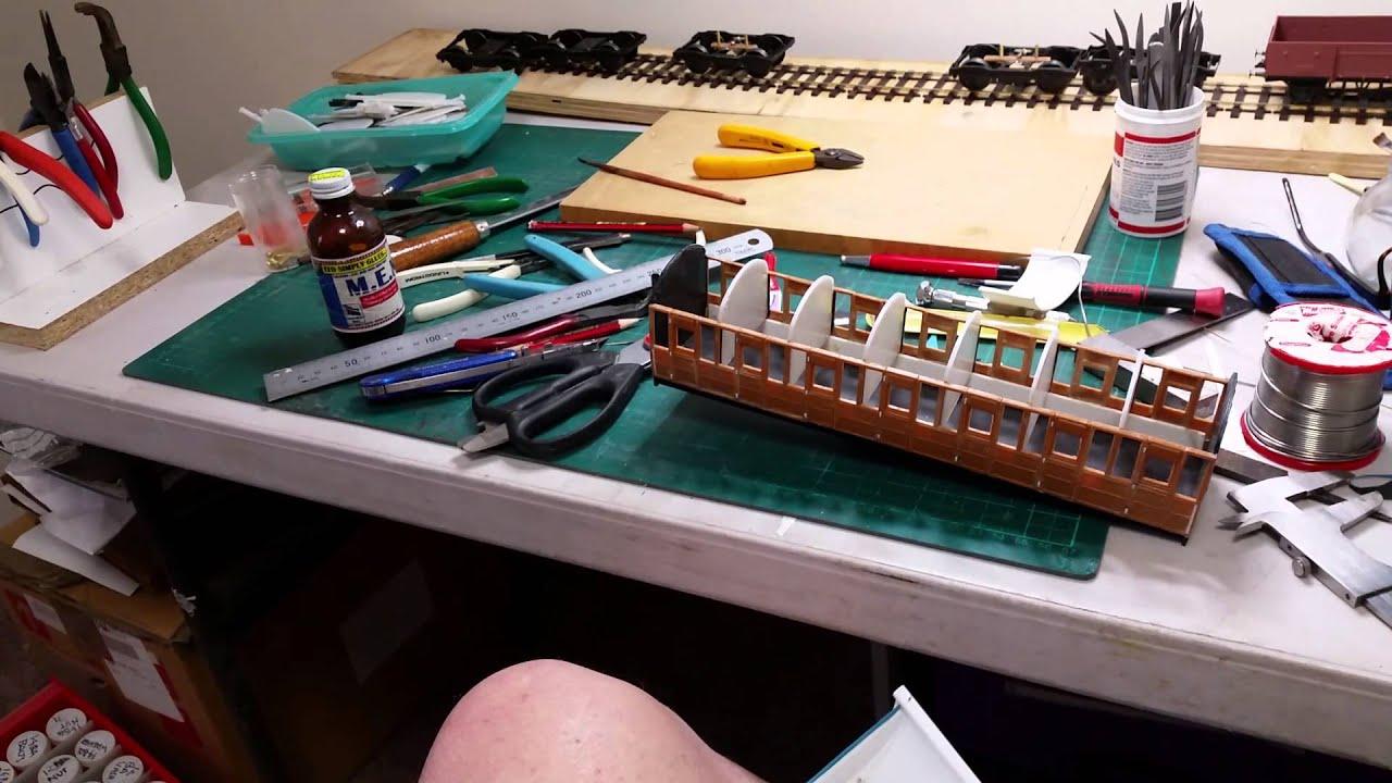 Model Railway Coach Kit Building