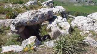 The Dolmen at the Ancient Roman Site of Dougga, Tunisia
