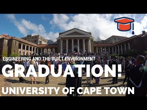 Engineering Graduation University of Cape Town - Class of 2016