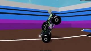 Roblox Monster Jam Stunt Compilation 19!