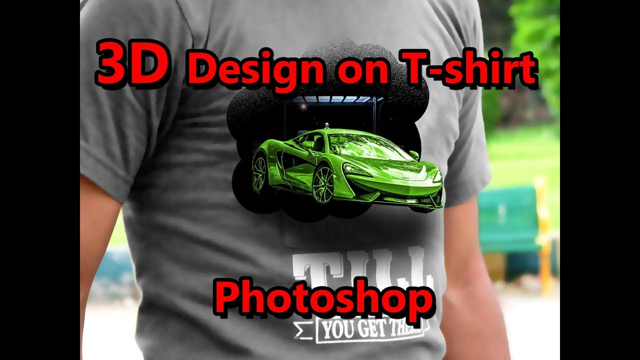 How To Create 3d Design On T Shirt On Photoshop Youtube,Los Angeles Lakers Logo Design
