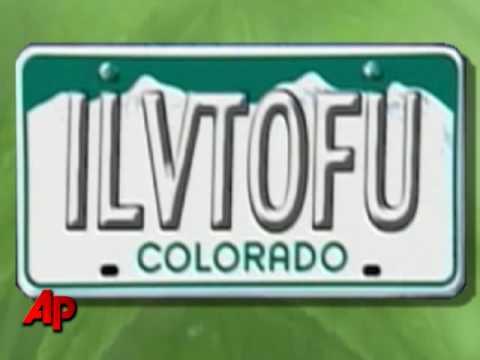 Colorado Bans Woman's 'Tofu' License Plate