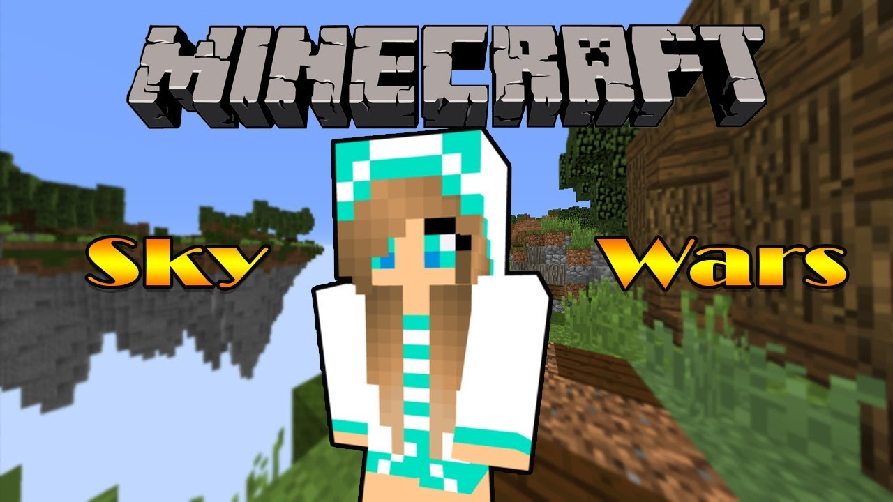Skywars - Primeiro video! - Flower -