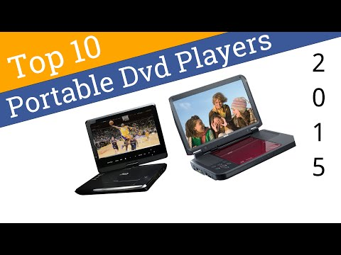 10 Best Portable DVD Players 2015