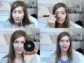 Long-lasting summer foundation routine for combination & oily skin + makeup trick