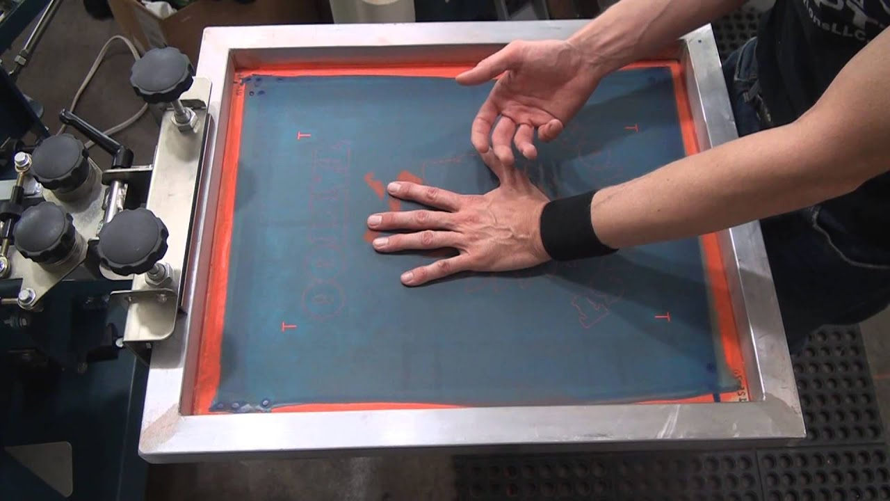 Screenprinting How To Register Multi Color Jobs NO Micro Reg
