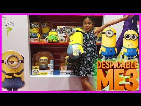 DESPICABLE ME 3 MINIONS | POKEMON Toys Shopping at Toy Store Dubai Mall with Fun EqualsBella