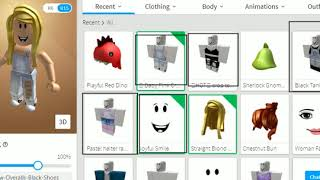 Account draw on Roblox-robux clothes