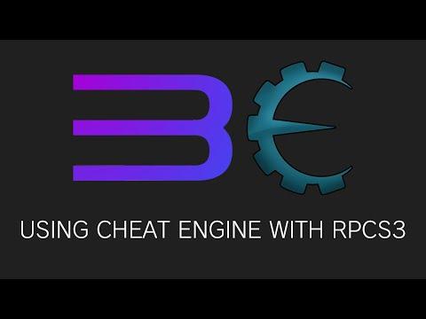 Cheat engine with RPCS3 emulator