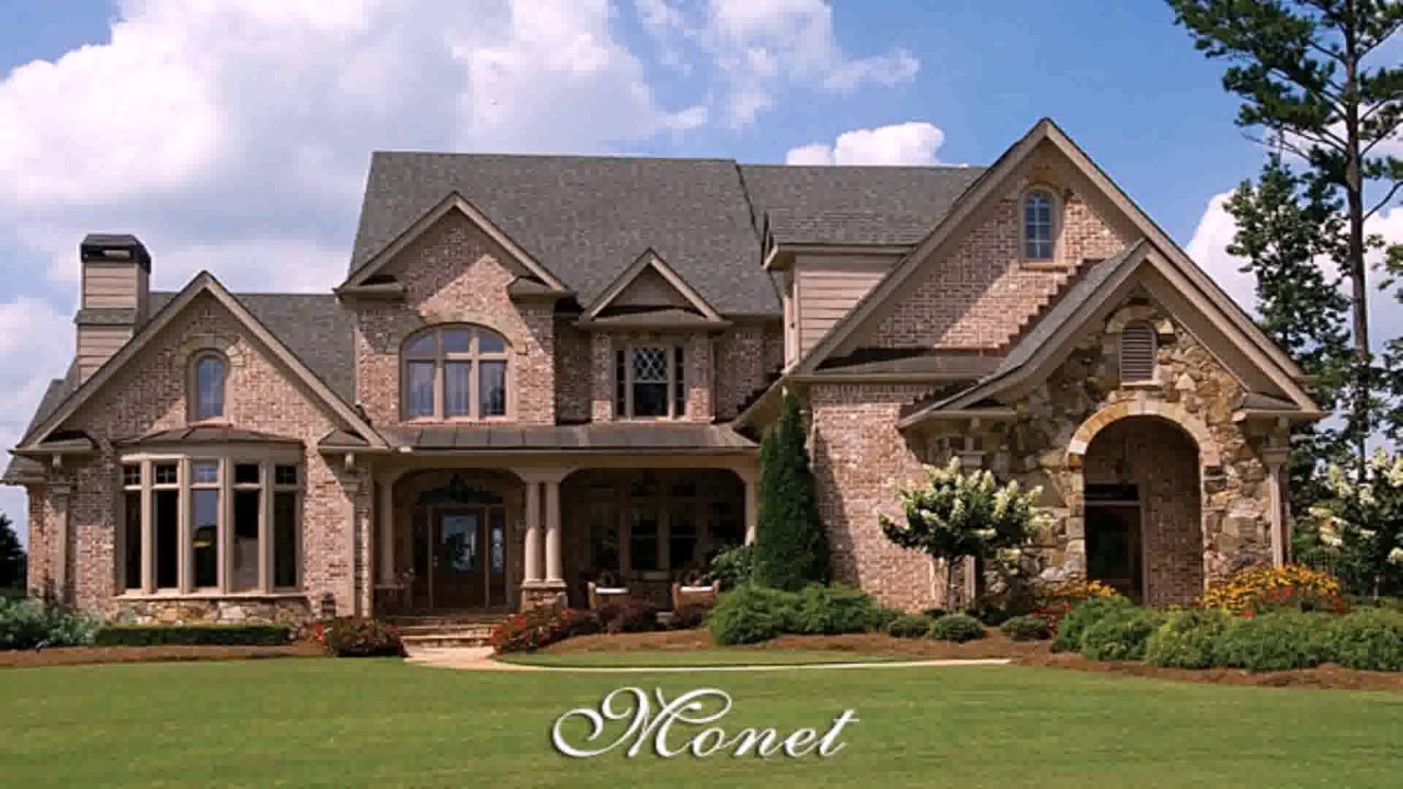 Modern country style house plans youtube for Modern french country house plans