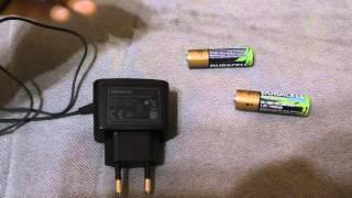 Как зарядить пальчиковый аккумулятор без зарядки