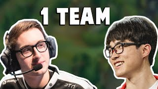 When Faker and Bjergsen Were In The Same Team.. | Funny LoL Series #172
