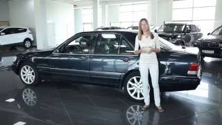 Подержанные автомобили Mercedes Benz S Class W140