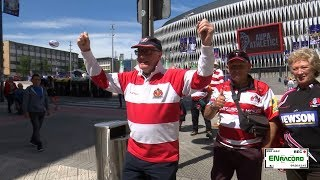 Fan zone para la champions rugby village Bilbao 2018. ENracord