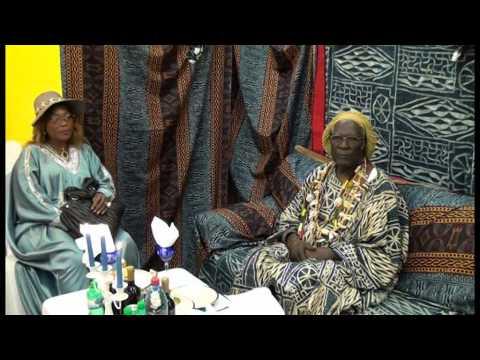La commuauté  Bamendjou de Zurich Suisse recoivent leur chef Sa Majeste Sokoudjou pt02