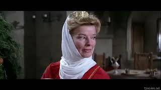 "Katharine Hepburn as Eleanor of Aquitaine - ""The Lion in Winter"""