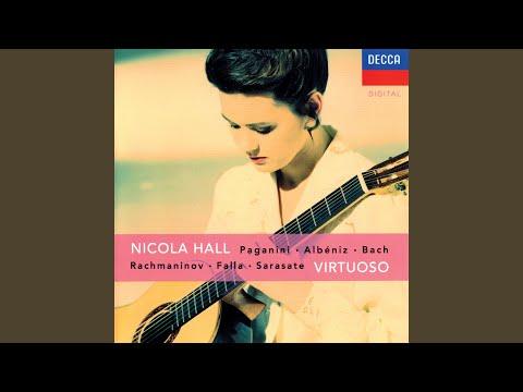 J.S. Bach: Partita for Violin Solo No. 2 in D Minor, BWV 1004 - Transcr. Hall - 5. Ciaccona
