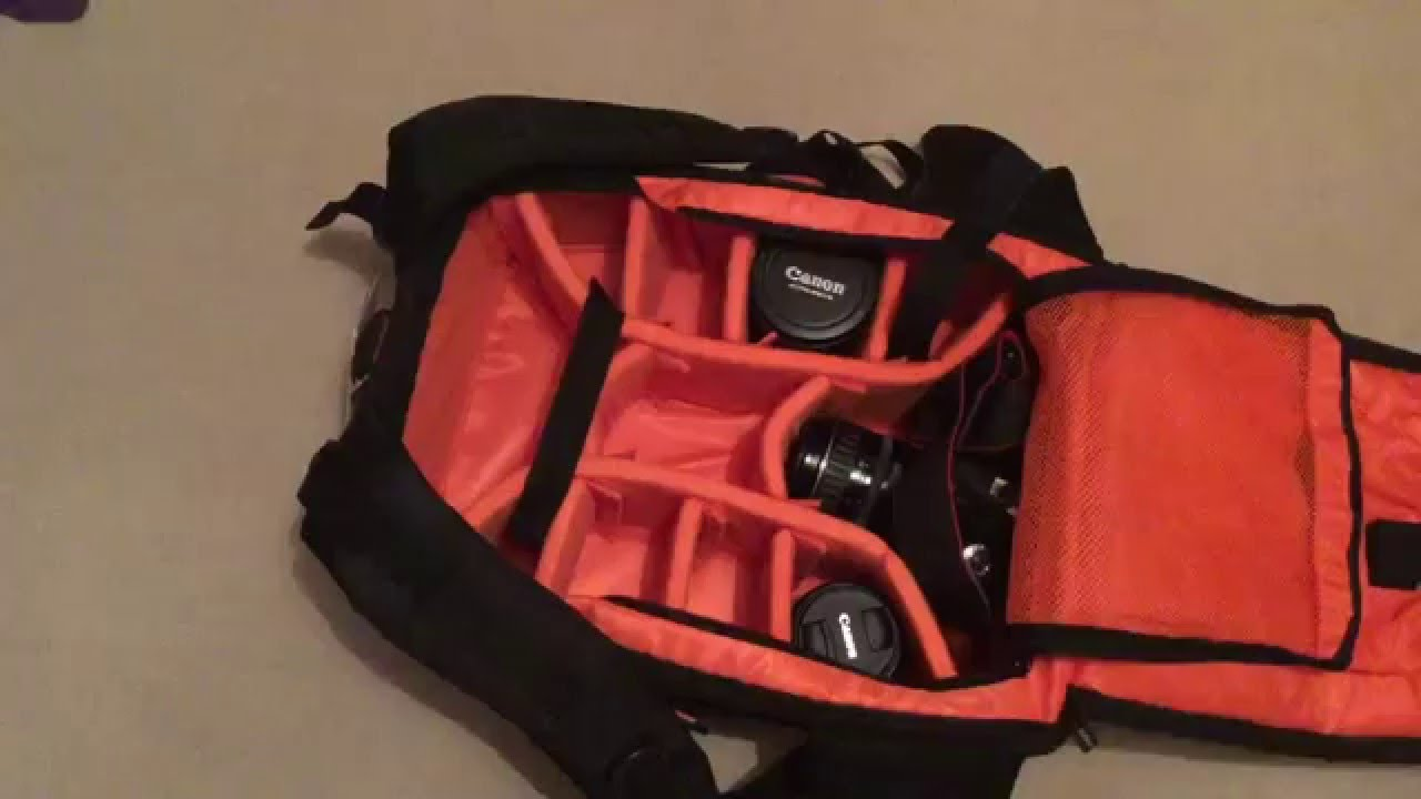Review of  DSLR backpack (by K F Concept) with space for two camera bodies 7b63f5da8d78e