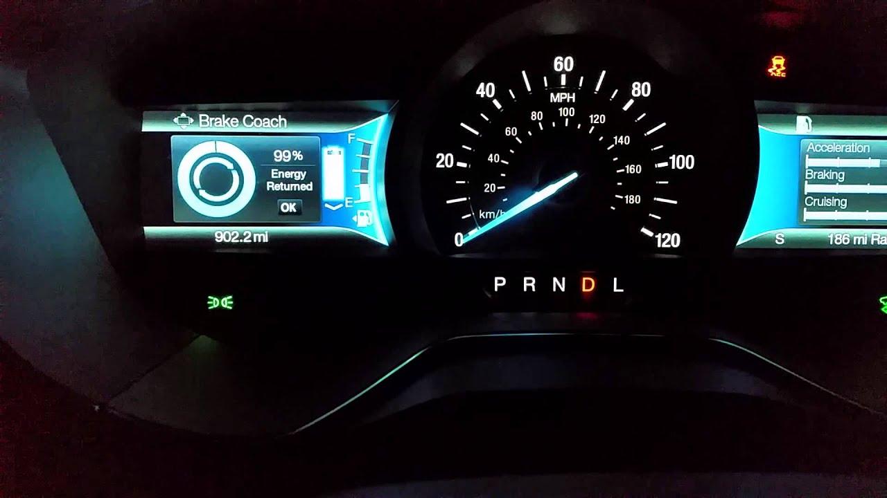 2016 Ford Fusion Energi Anium 0 60