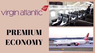 Virgin Atlantic PREMIUM ECONOMY Los Angeles to London|Boeing 787-9