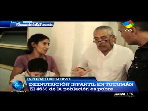 Desnutrición y pobreza en Tucumán