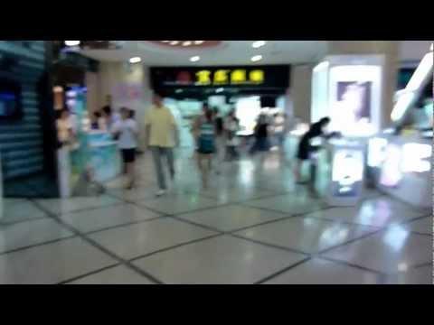 A Walk to Work Through Xujiahui and Metro City Part 1