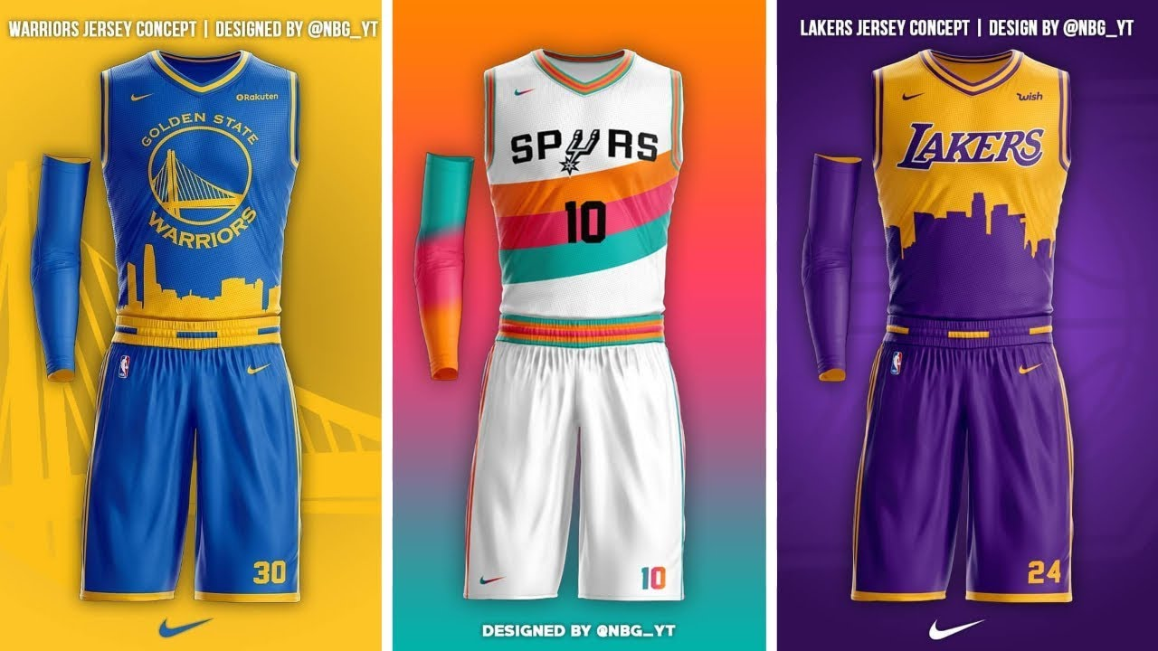 fed25dabb6a NBA 2018-19 Jersey Concepts - YouTube