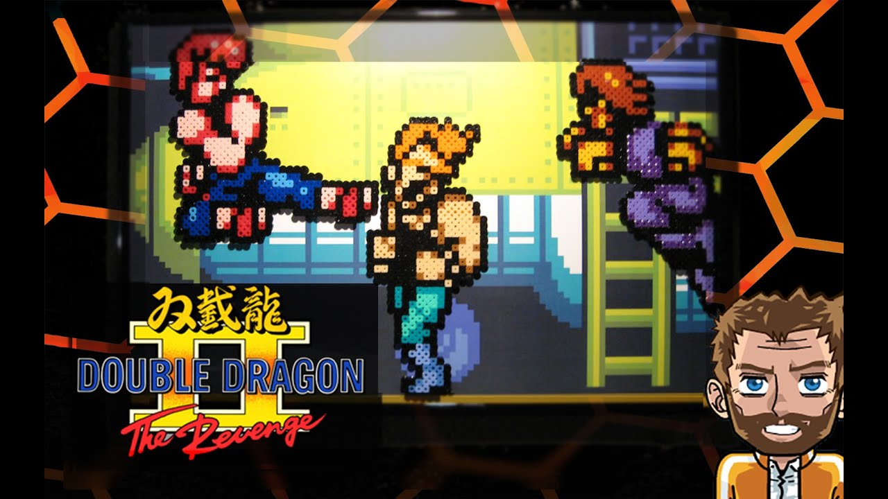 Graves And Iratron Saturdays Double Dragon Ii Free Wallpaper