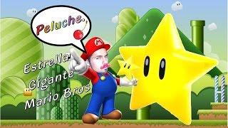 Estrella de Mario Bros GIGANTE (peluche) ... Er!ck Cherry...