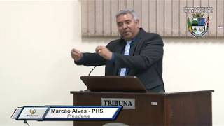 30ª Sessão Ordinária - Presidente Marcão Alves