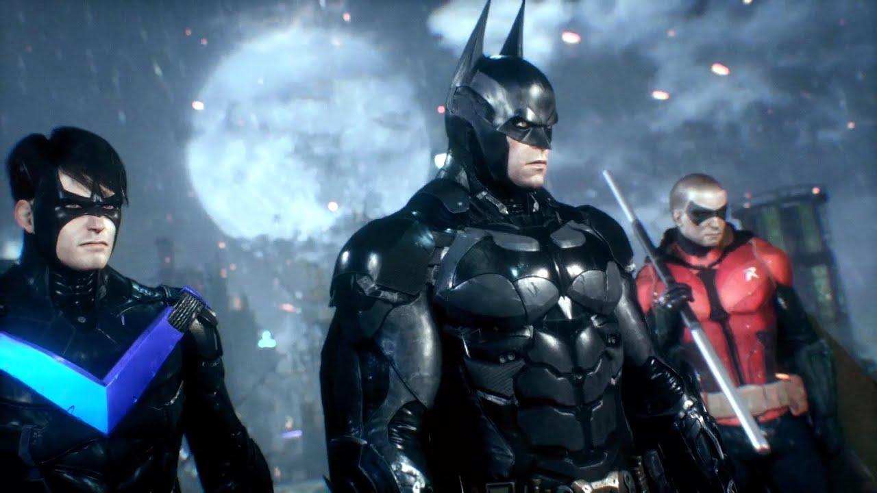 Batman Arkham Knight Nightwing Free Roam Mod - YouTube