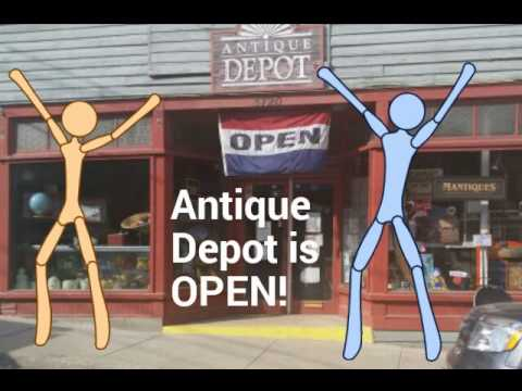 Antique Depot is Open!