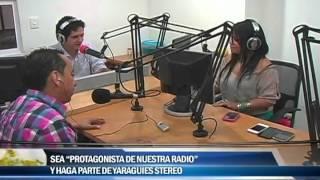 """Sea """"protagonista de nuestra radio"""" y haga parte de Yariguies Stereo"""