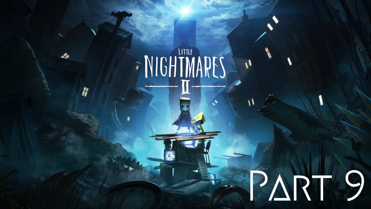 Little Nightmares 2 Walkthrough Part 9 FINAL - THE FALL